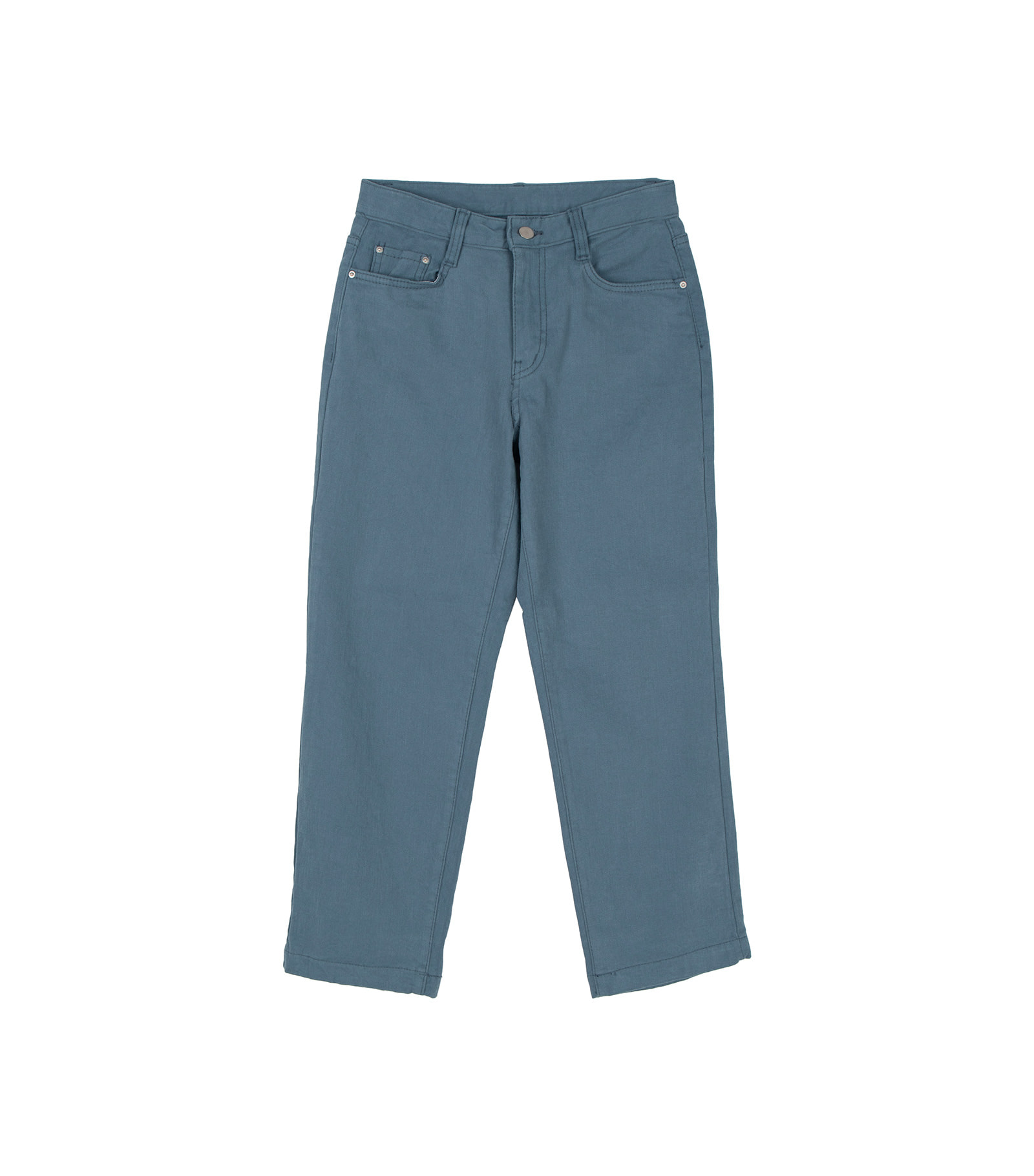 Ms. brushed straight pants
