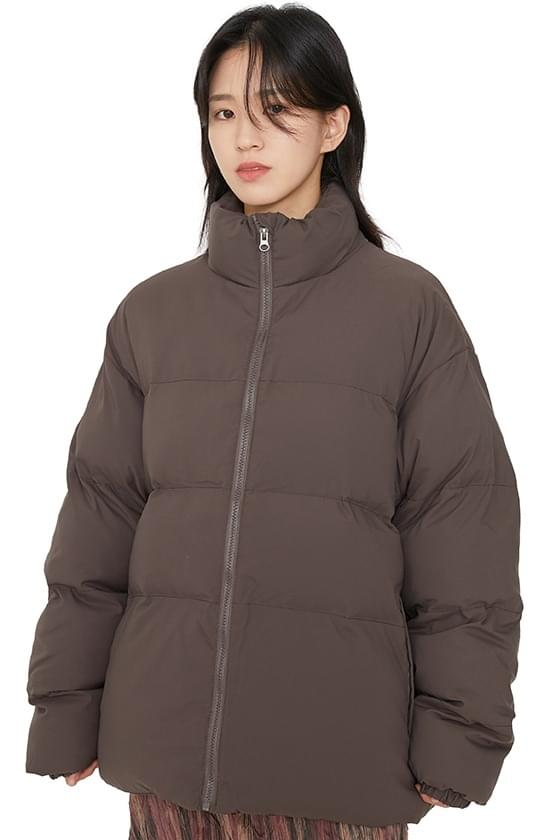 Unisex fuzzy padded coat (Delayed delivery)