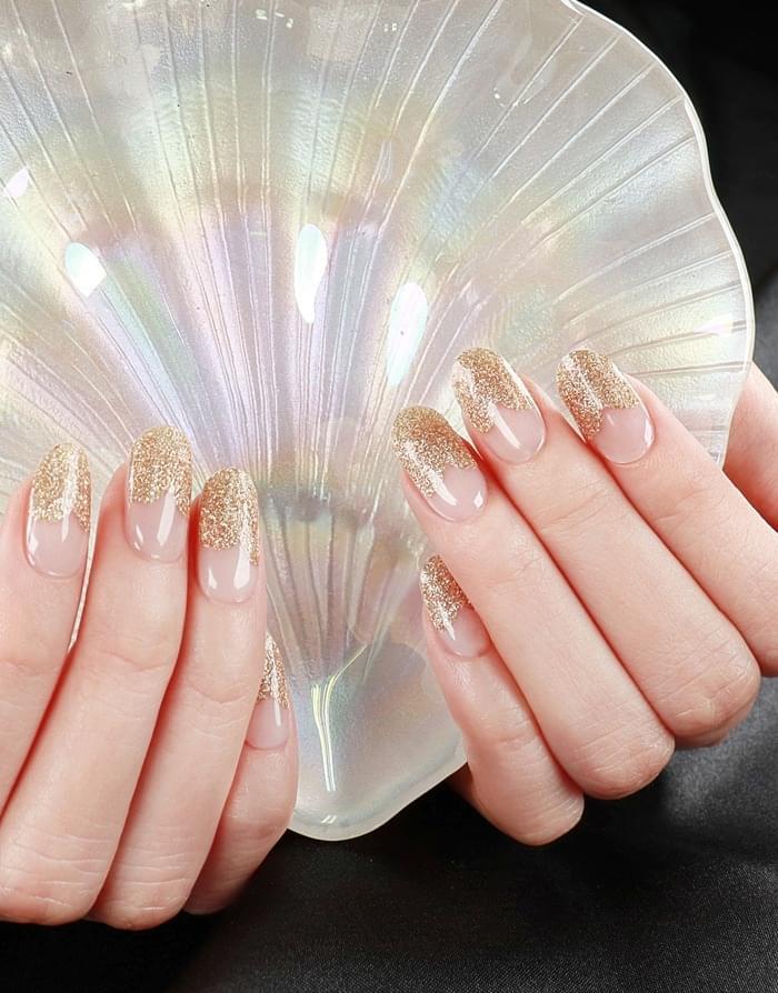 Gold Heart Glitter Body / Hair / Nail