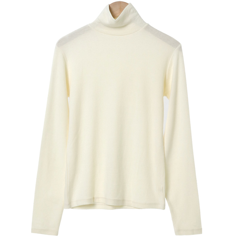 Muffin Slim Wool Turtleneck T-shirt