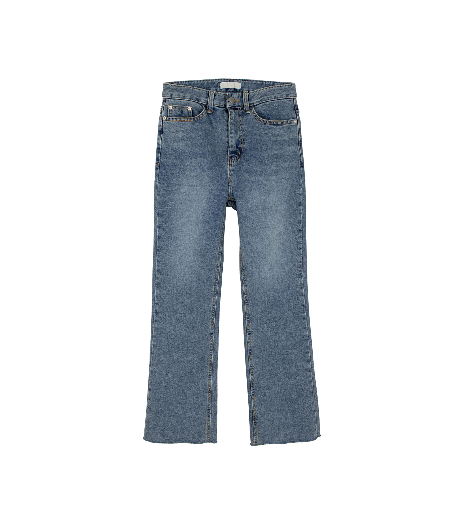 Bridge brushed bootcut jeans