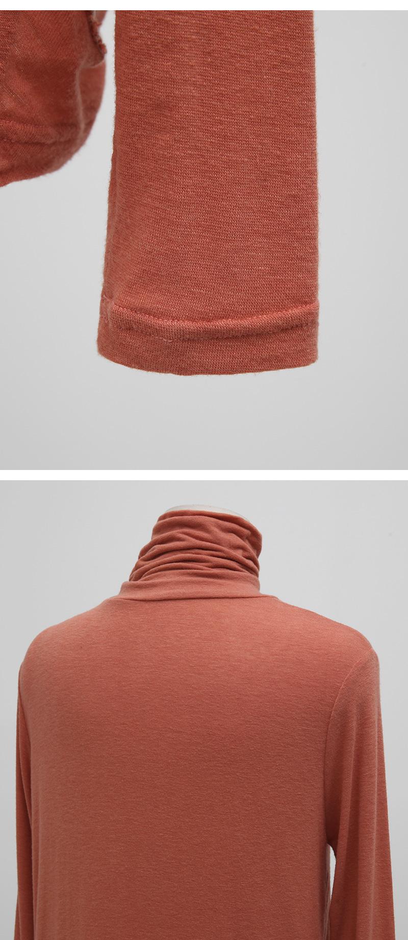 Than slim wool pola T (size : free)