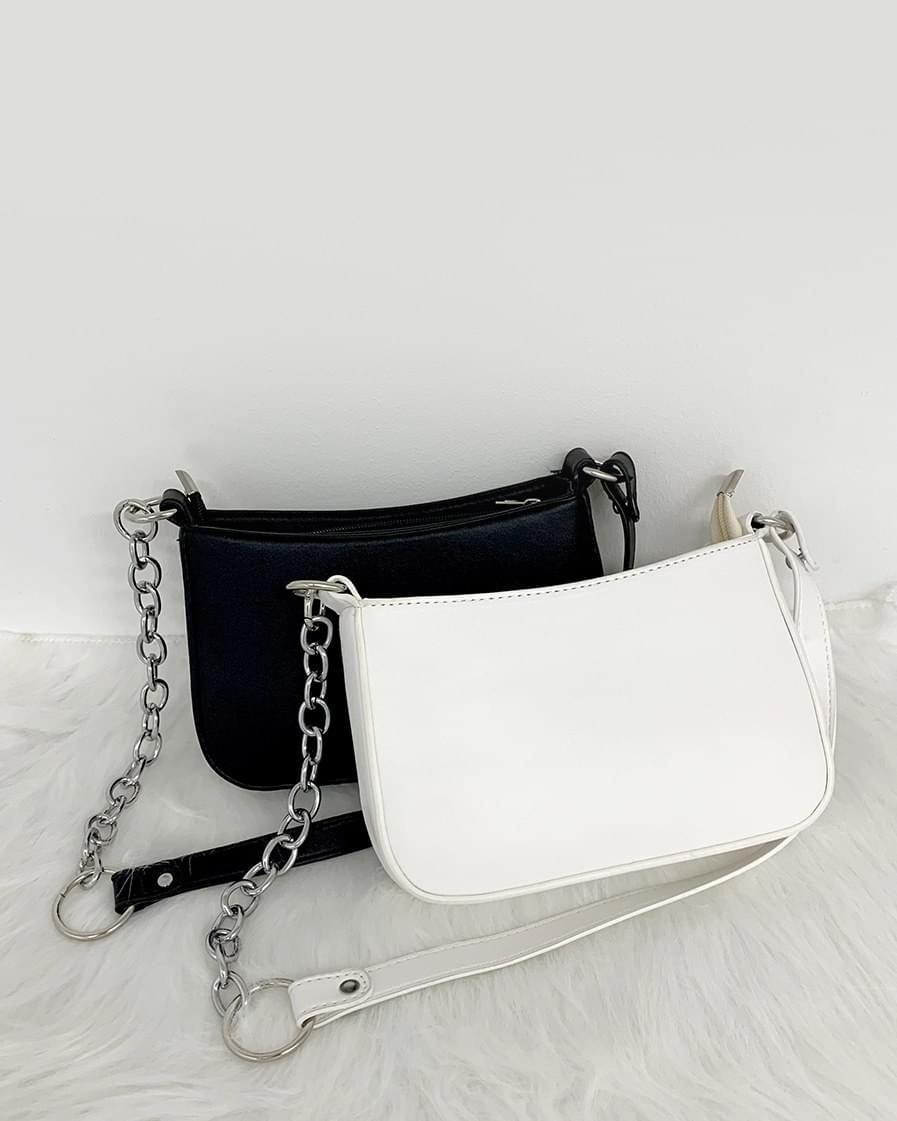 Vero Chain Leather Mini Shoulder Bag 肩背包