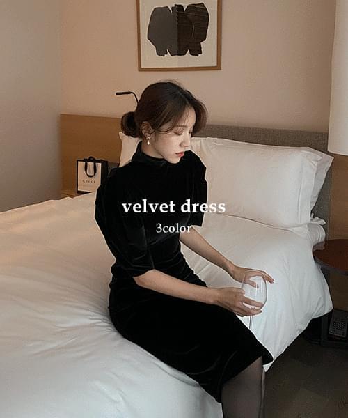 Peter dress-velvet