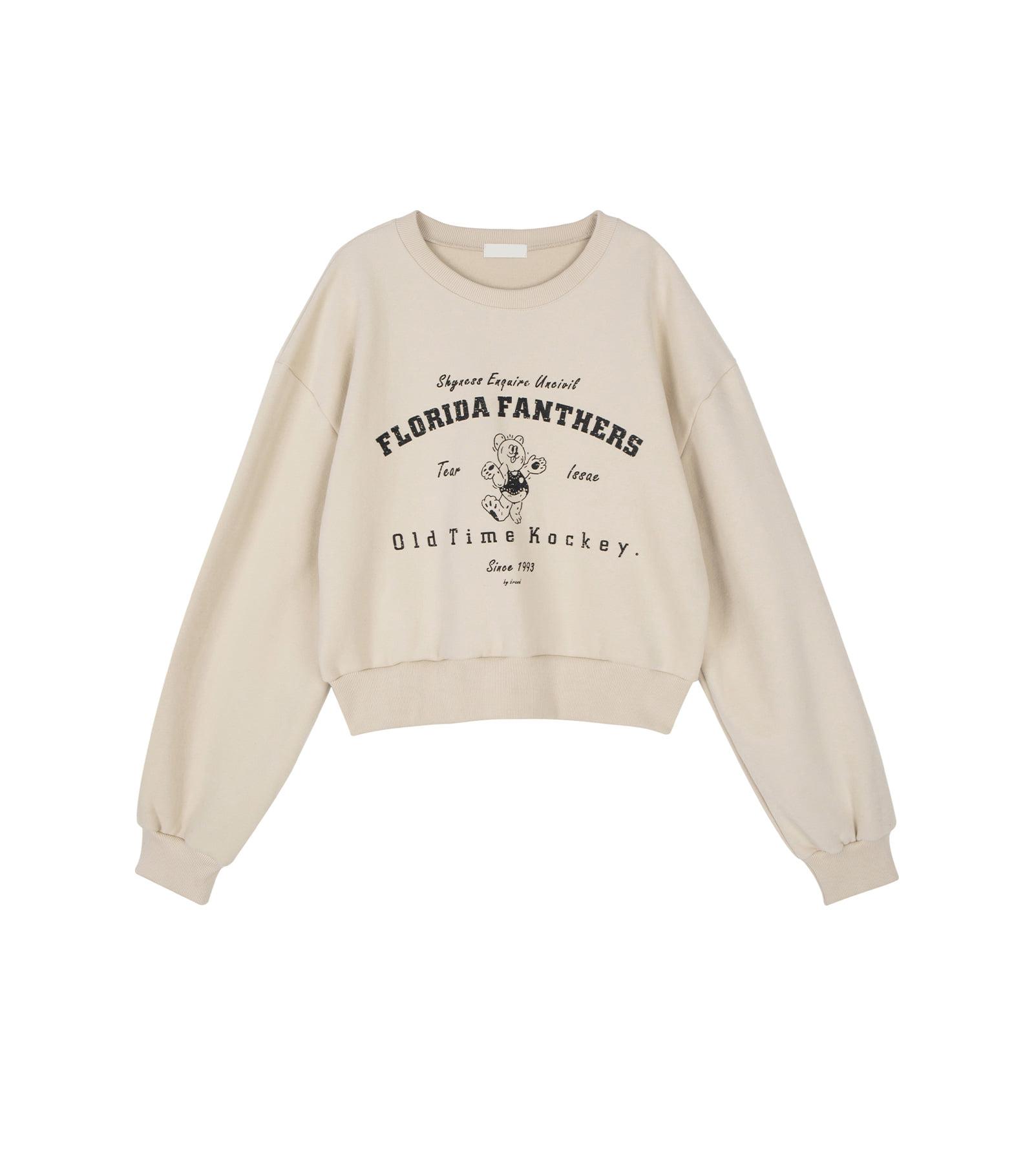 Lulu Bear crew neck sweatshirt