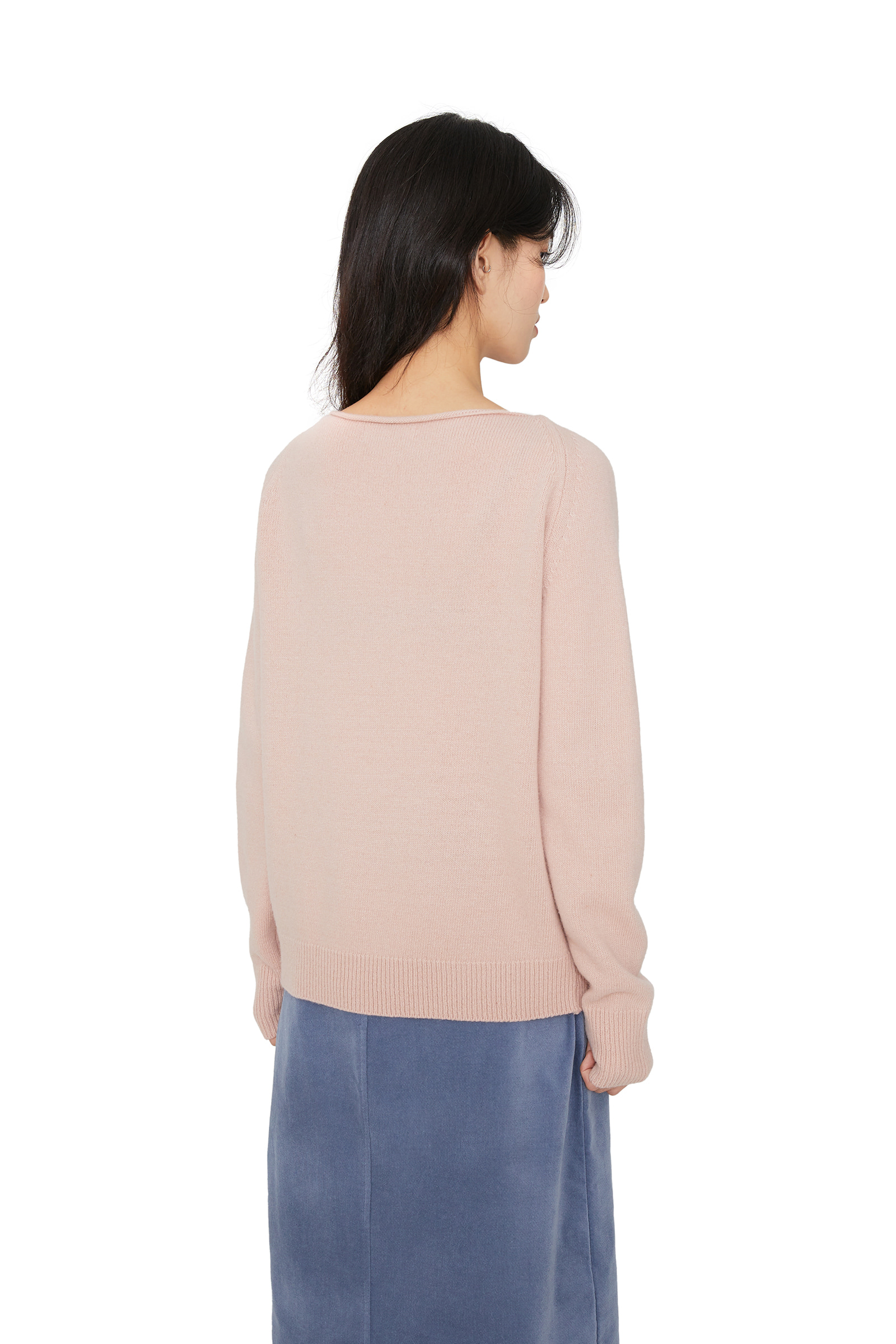 Laurent cashmere boatneck knit