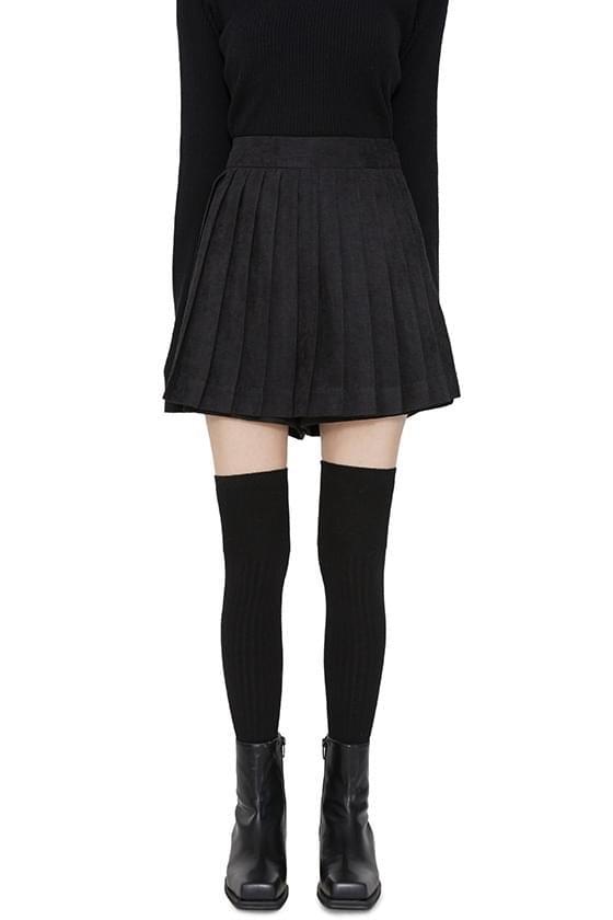 Day pleated skirt mini shorts 裙子