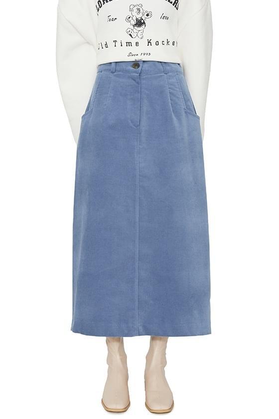Cha Cha corduroy maxi skirt 裙子