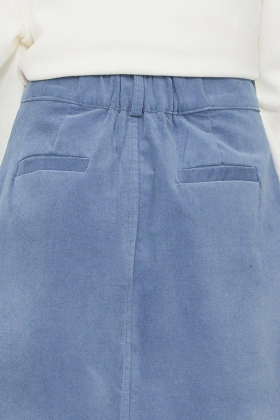 Cha Cha corduroy maxi skirt