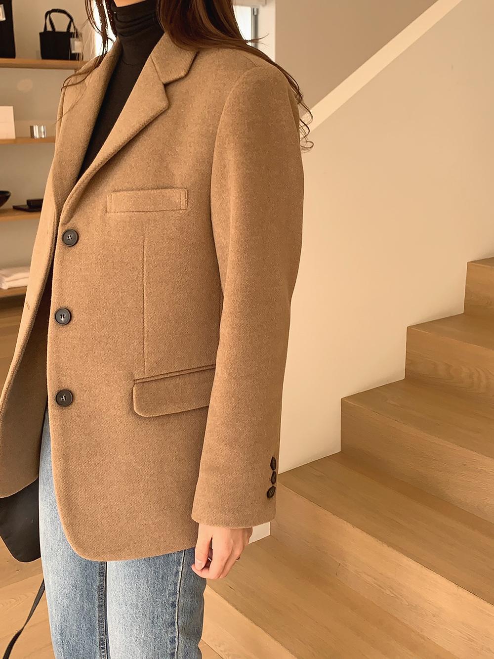 Brand Wool Jacket