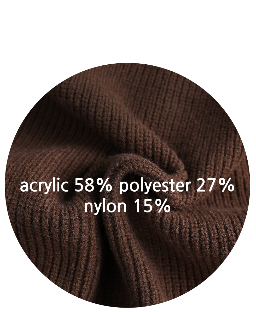 Eisen Half Zip Up Knit
