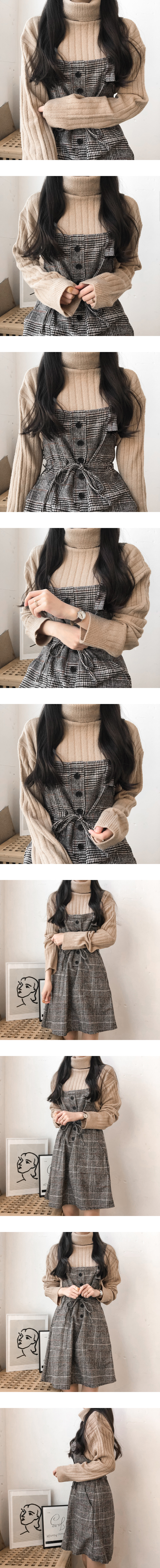 Basic Turtleneck Knitwear