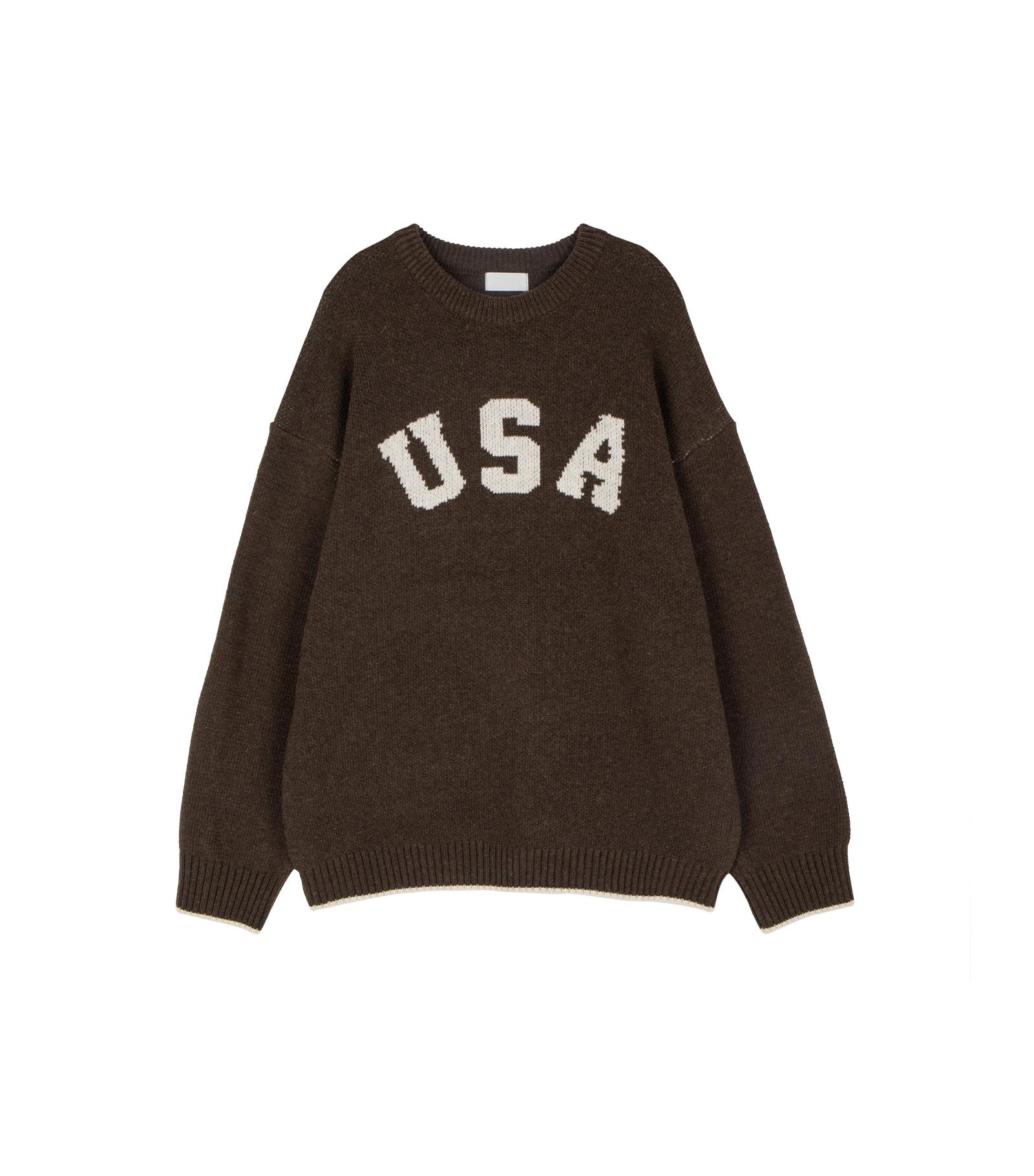 Unisex America Rams Wool Knit