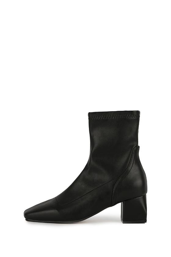 Ness middle heel ankle boots 靴子