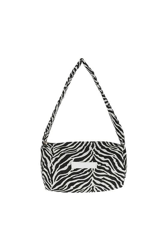 Mini zebra cylinder shoulder bag 肩背包