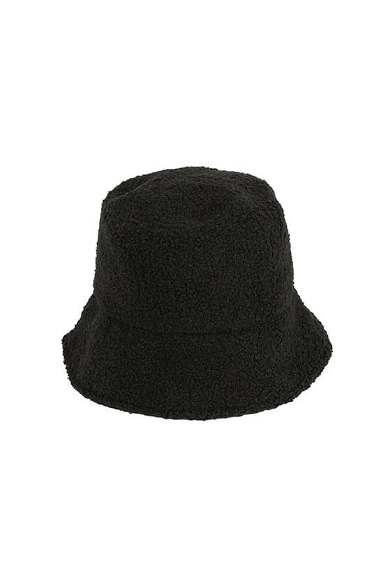Momo shearling bucket hat 帽子