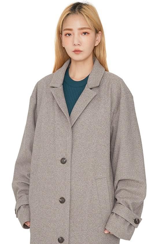 Nine oversized single long coat