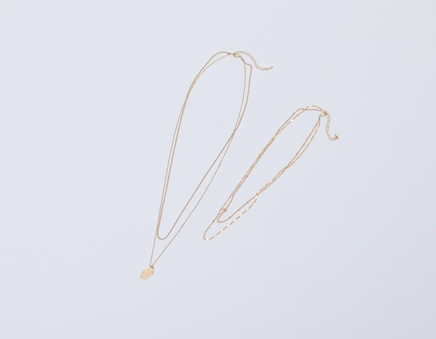 Until layered necklace_K