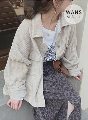 jk2894 bath corduroy shirt jacket