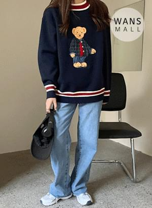 kn2332 Pooh Loose Fit Knit