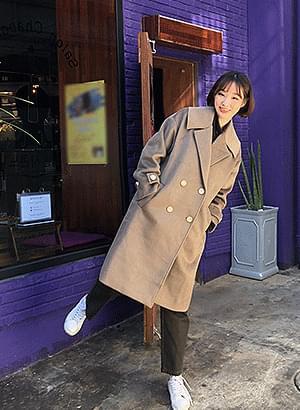 韓國空運 - ct0488 abound half coat 大衣外套