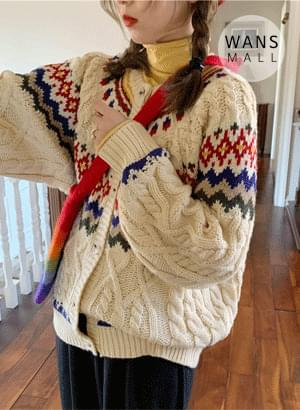 cd0637 vented sweater cardigan