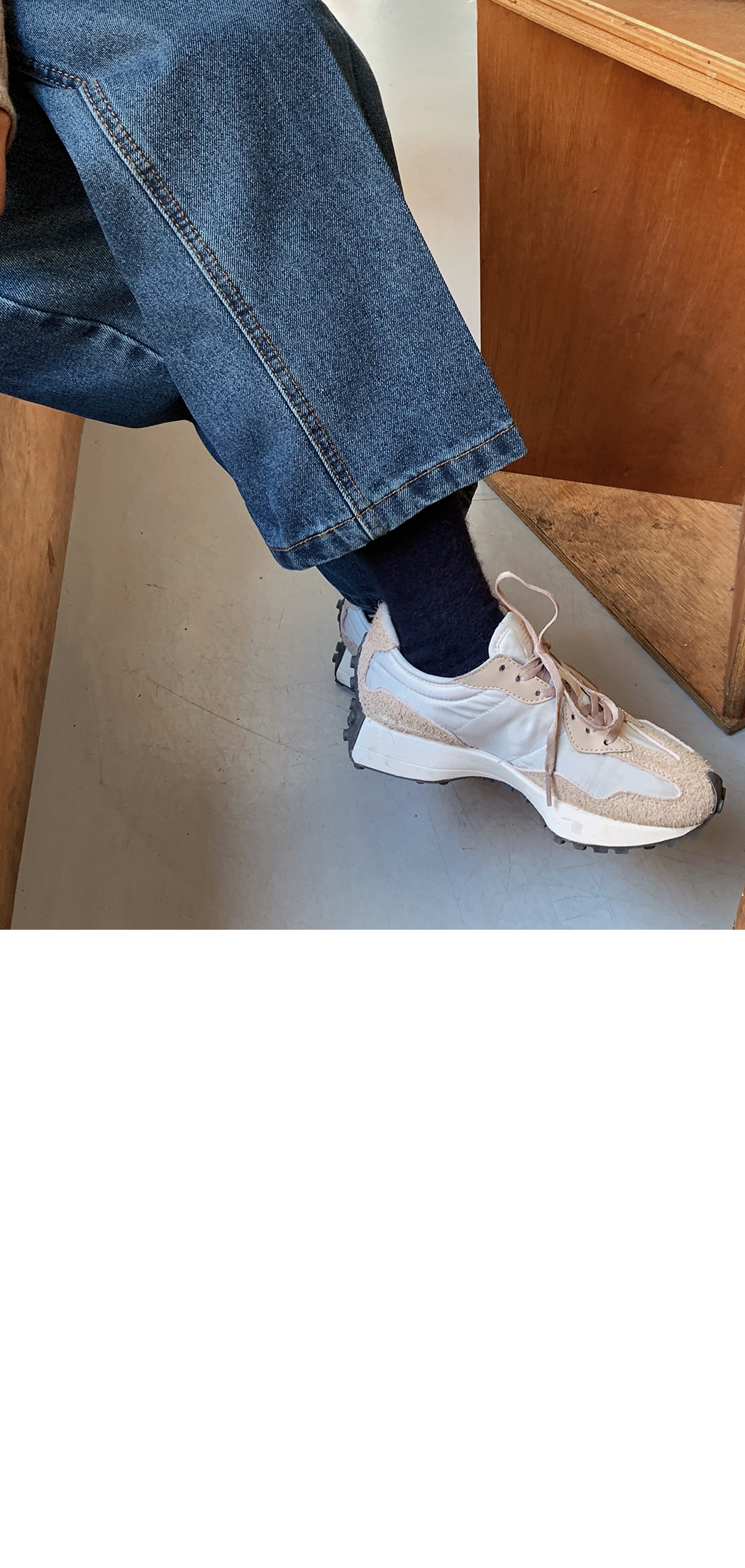 Angora Wool Knit Socks