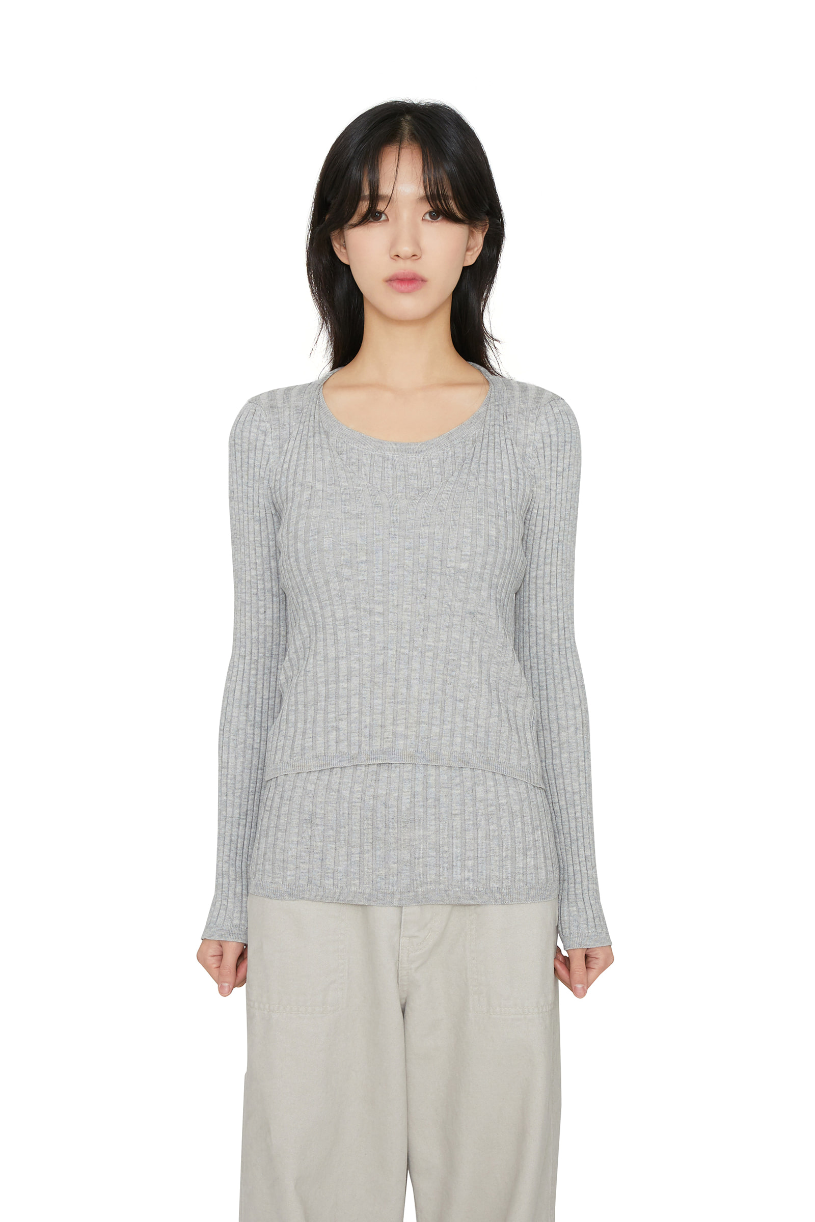 Ain set knitted top
