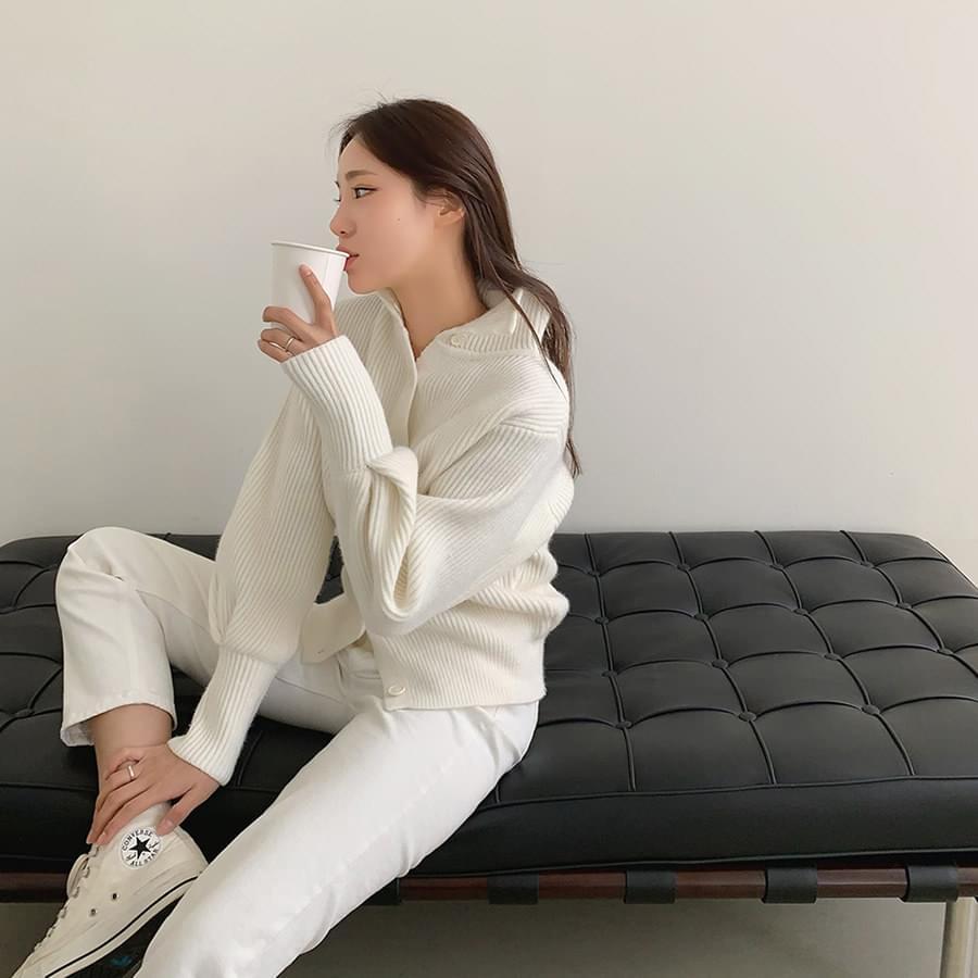 Bbosong Knit Zip-up 針織衫