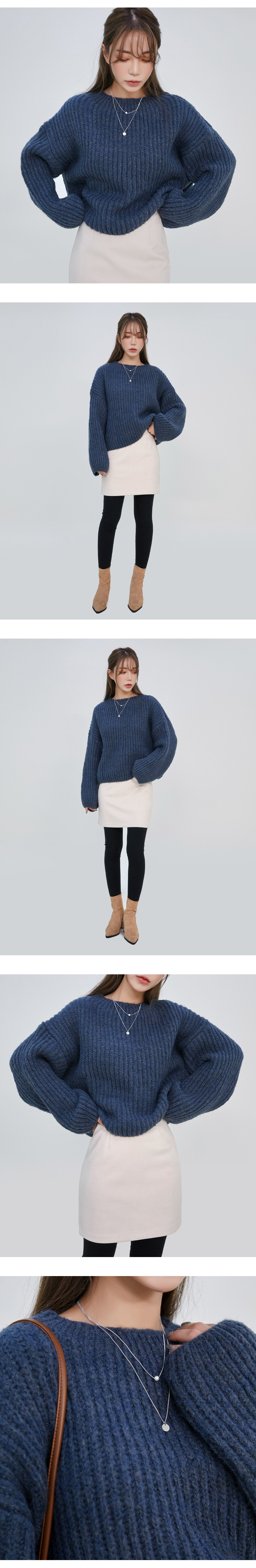 Heidi balloon knit