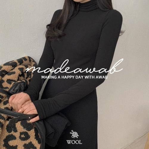 #AWABMADE:_Winter Wool Turtle T-shirt
