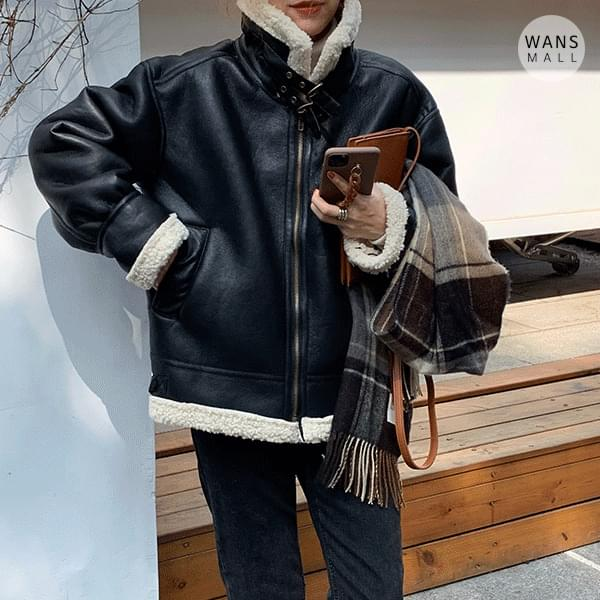 jp2975 Antry Leather Shearling (Delayed delivery)
