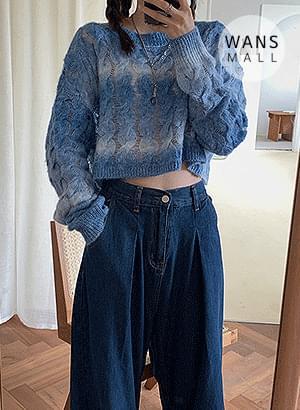 kn2387 grande round sweater
