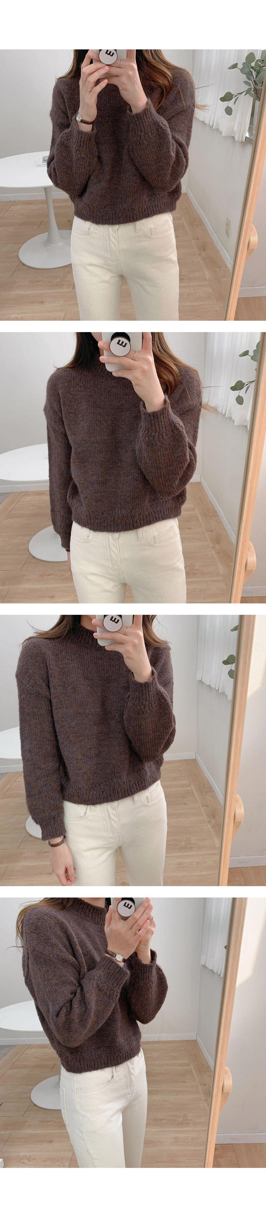마시멜로 반목 보카시 knit - 3color