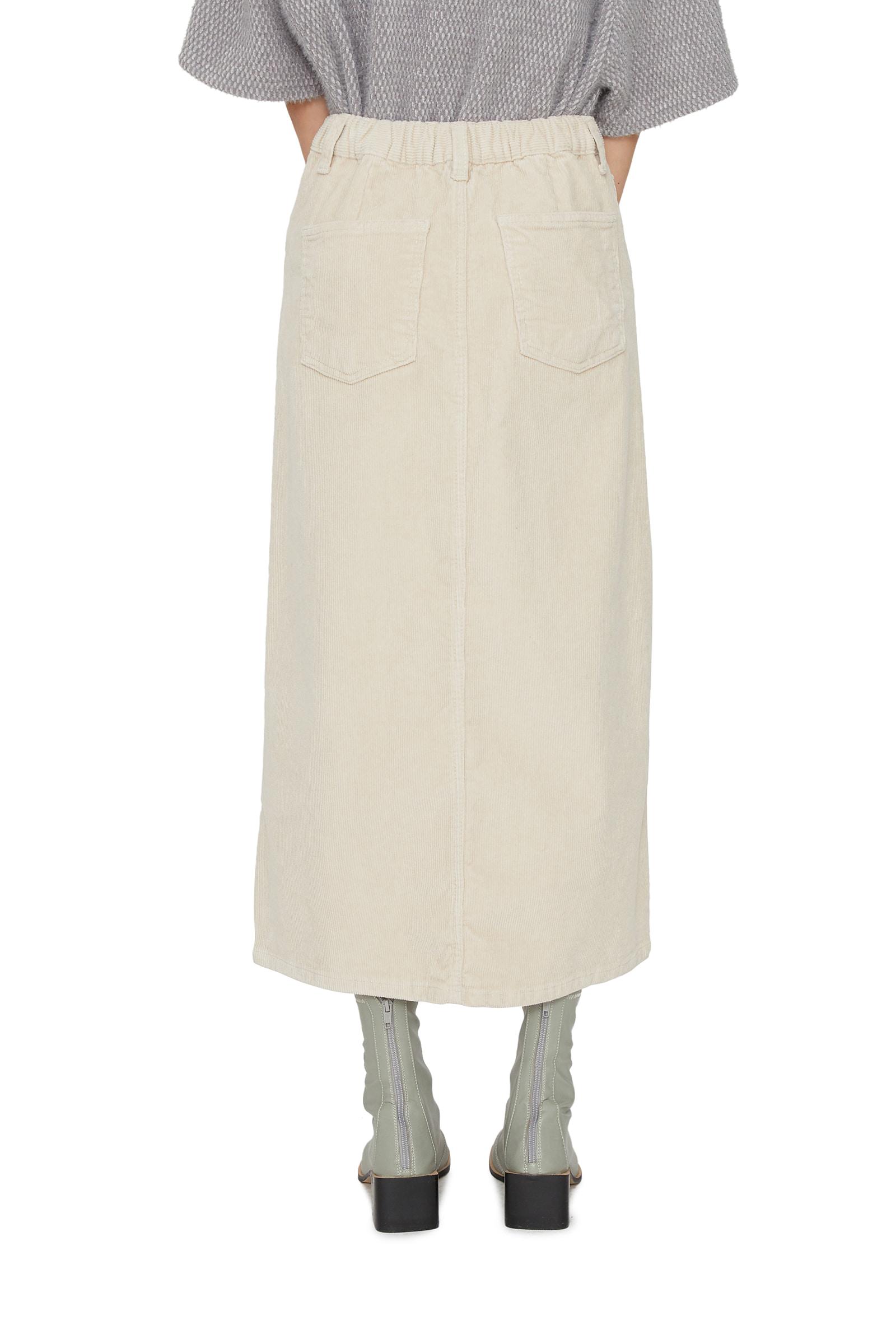 Thorpe corduroy maxi skirt