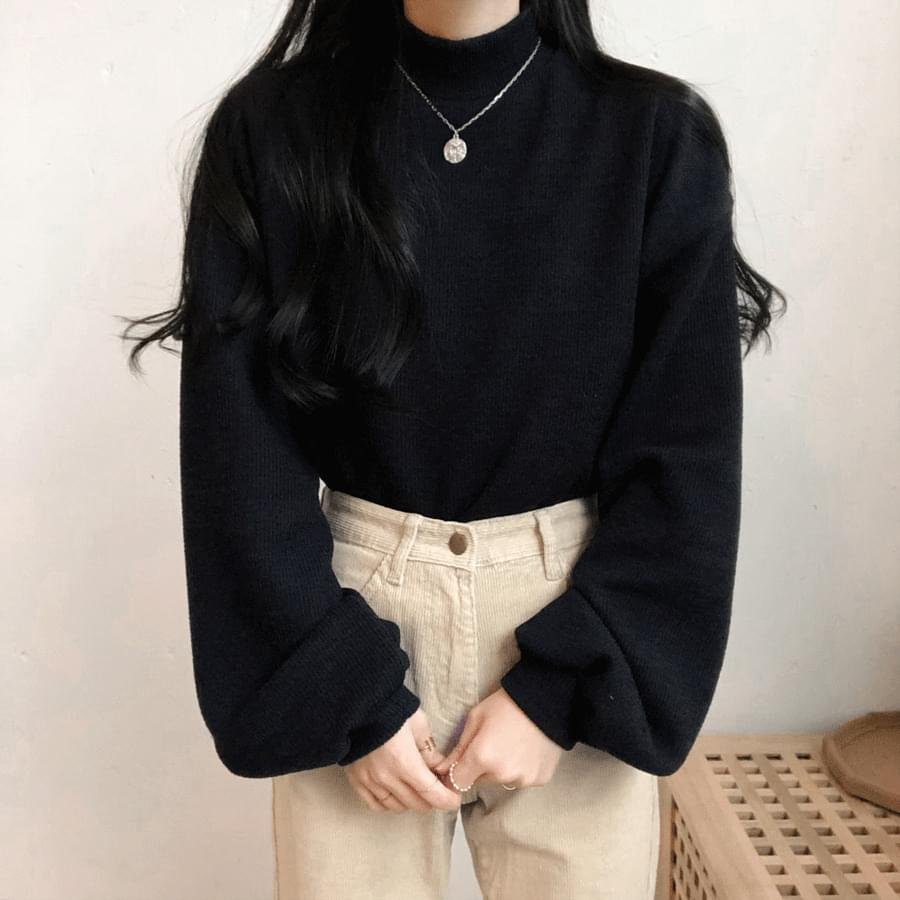 Shagolji Balloon Polar Sweatshirt