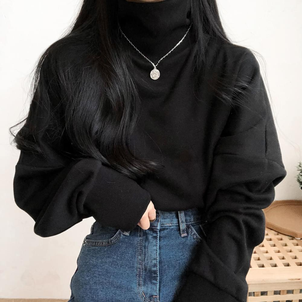 모모 박시 폴라 맨투맨 (t1326)