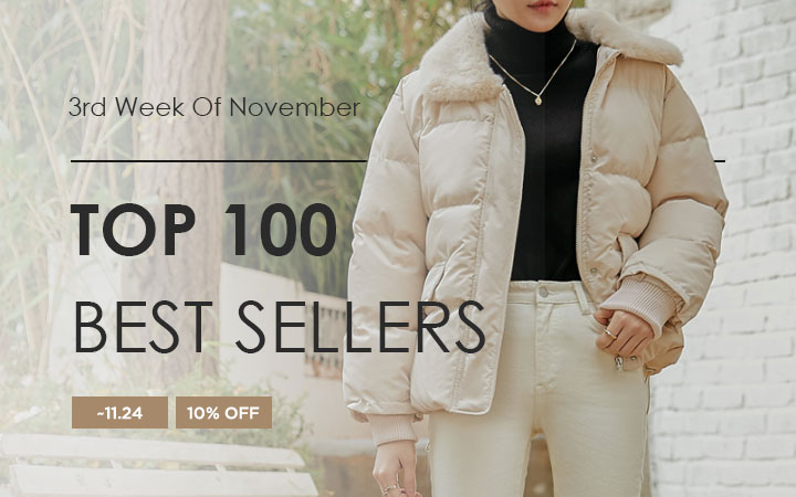 TOP 100 BEST SELLERS - 3rd Week Of November