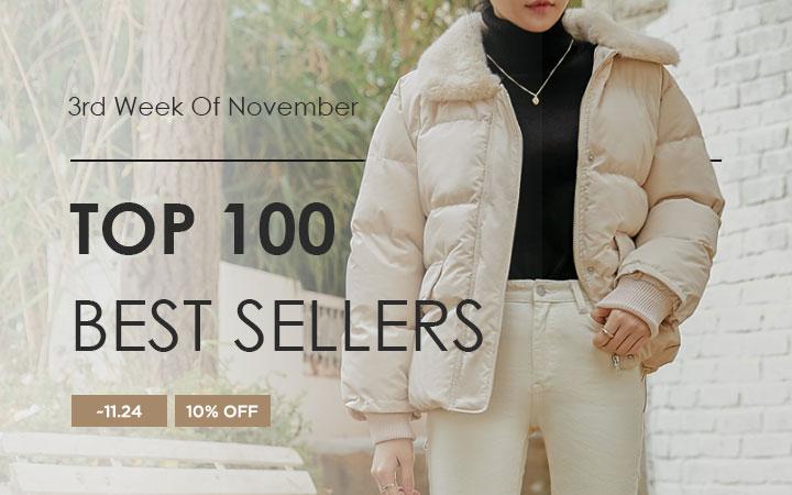 TOP 100 BEST SELLERS - 3rd Week Of November
