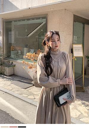 韓國空運 - Soft mood flare dress 洋裝