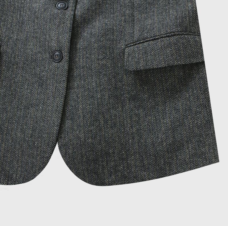 Corner Herringbone Jacket