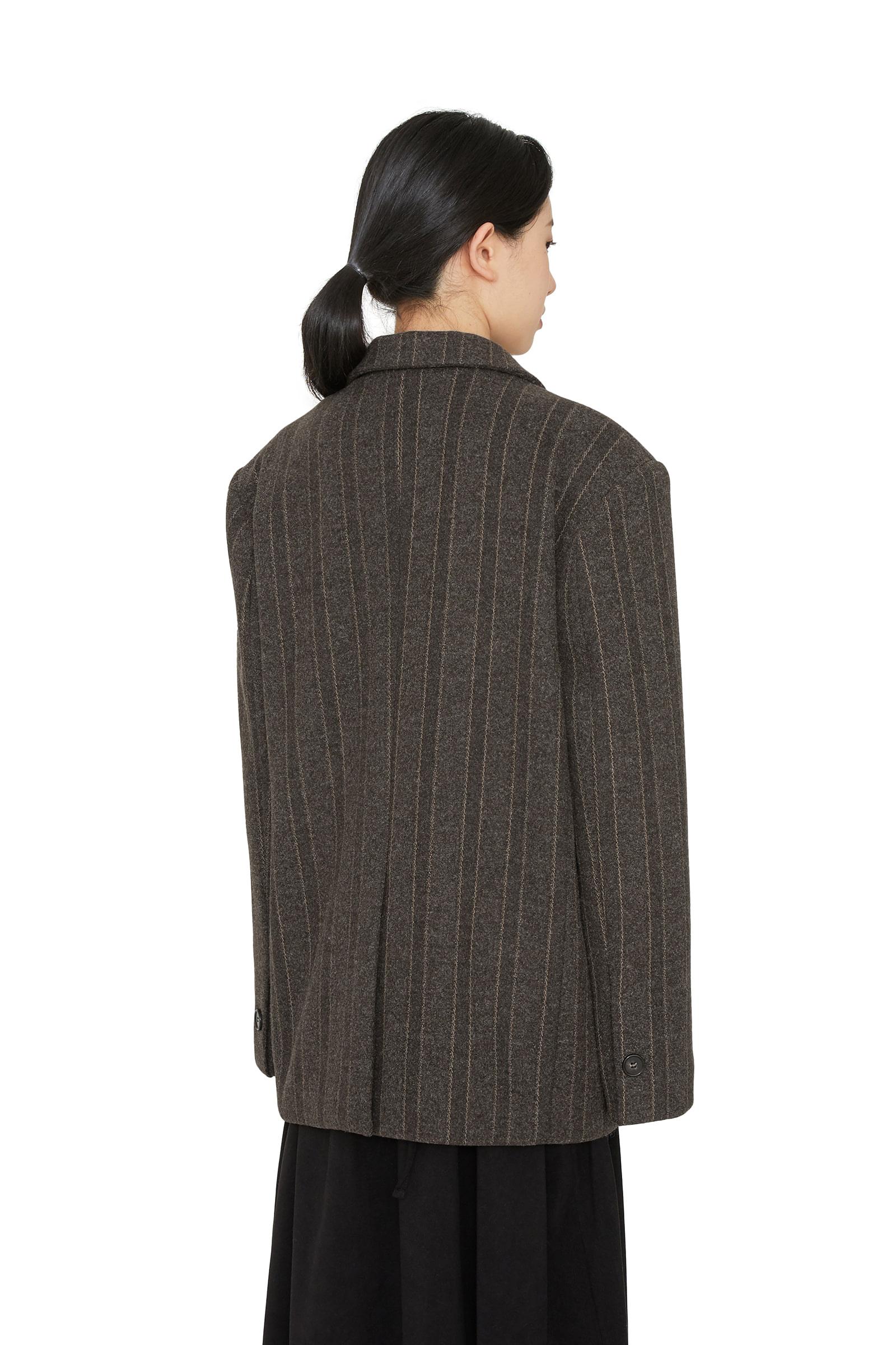 Jackpot pattern wool blazer