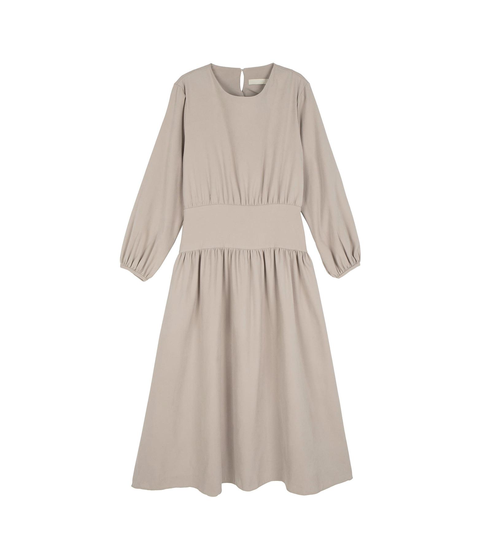 Wehas frill maxi dress