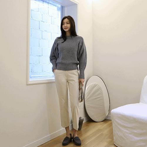 韓國空運 - Holly Cable Puffknit 針織衫