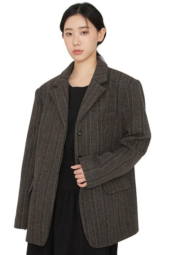 Jackpot pattern wool blazer 夾克外套