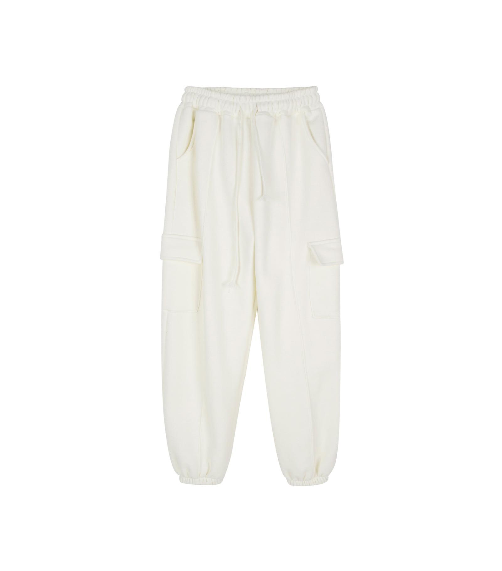 Bebe Fleece-lined pocket jogger pants