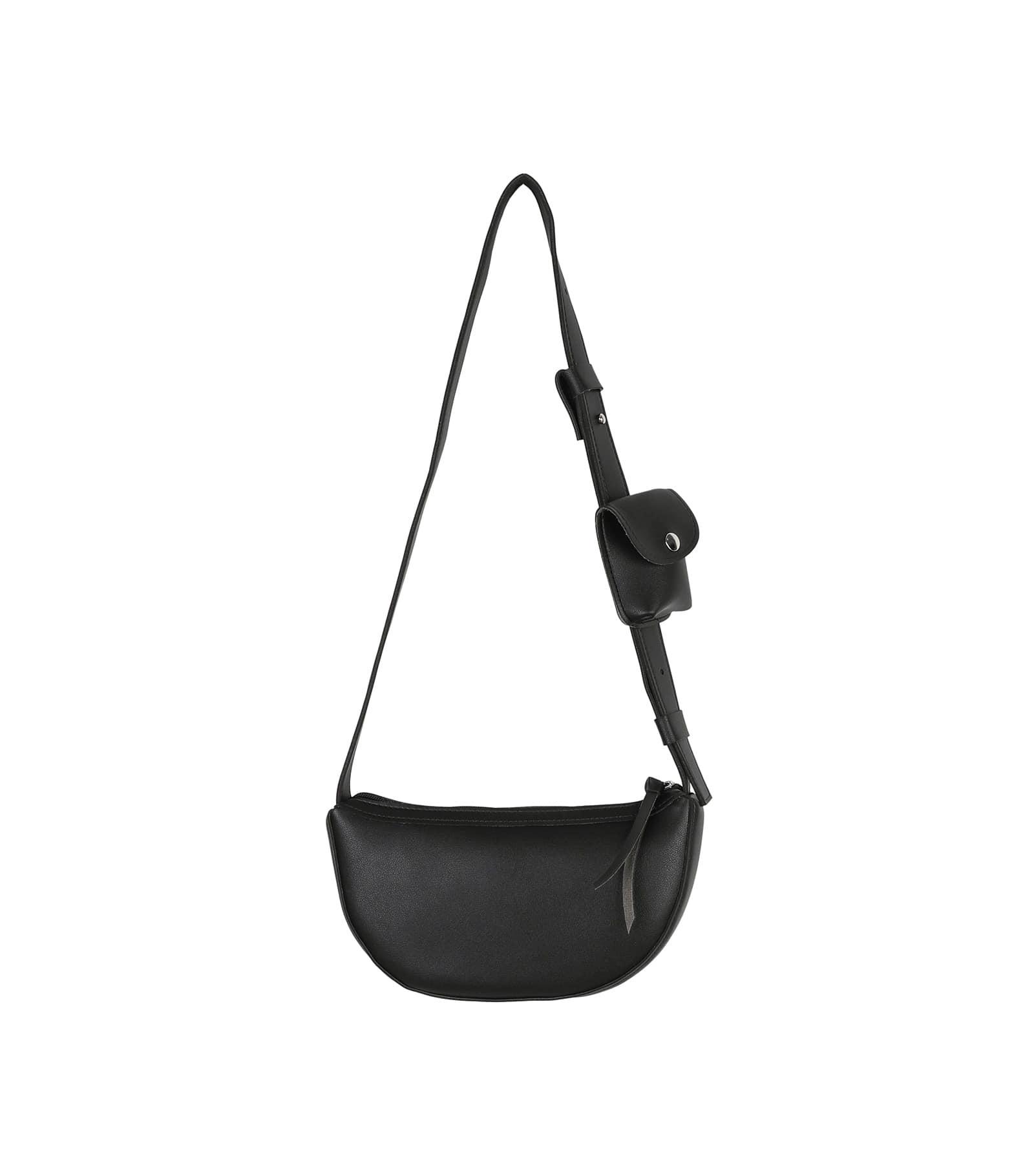 Layered mini pocket shoulder bag