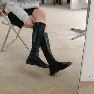 Diagonal Tabi Long Boots 2.5cm