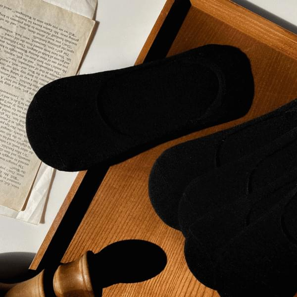 Basic Fake Socks Overshoes Socks 20 Set Box 襪子