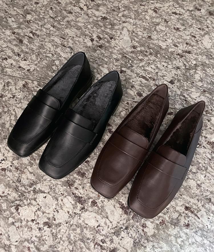 Endy brushed loafers 樂福鞋